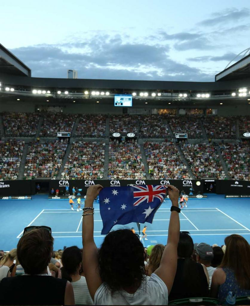 Australian Open Upper Level